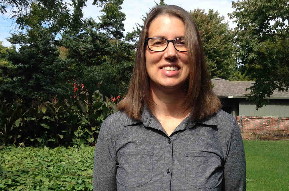 Esther Koontz, lead plaintiff in an A.C.L.U.lawsuit which challenges a Kansas anti-boycott law. Photo: ACLU.ORG