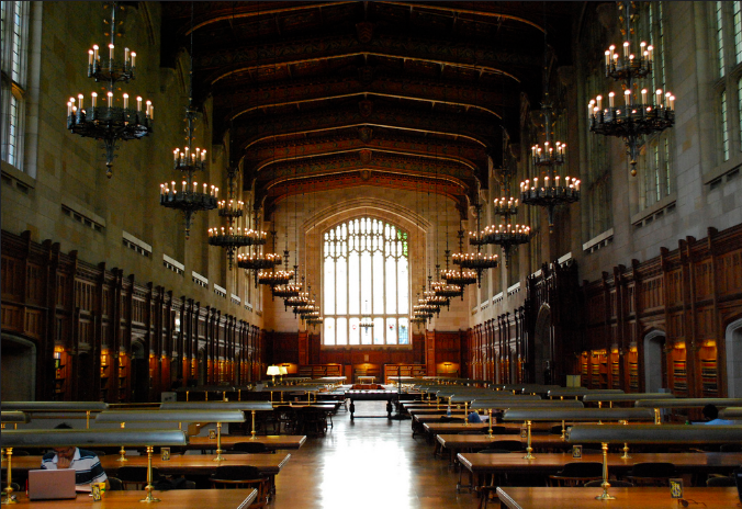 Michigan law library. Aaron Sonnenberg.