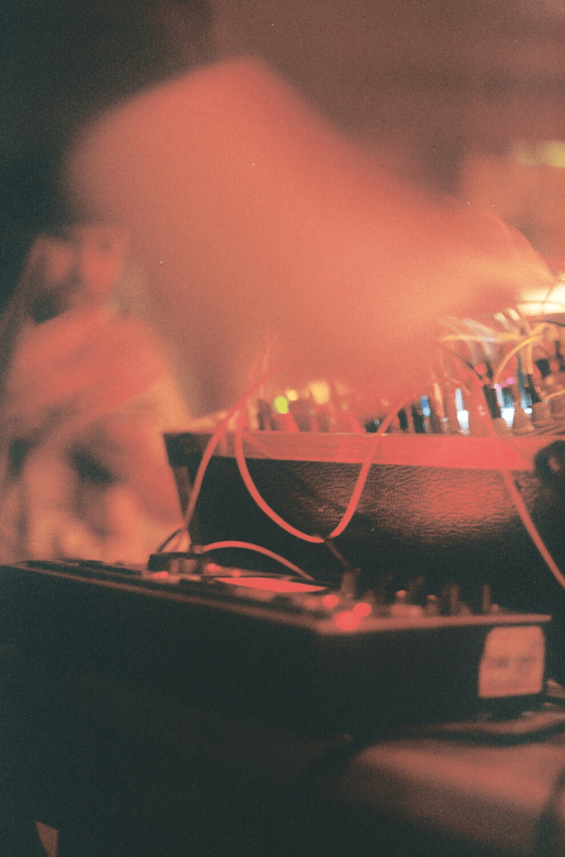 Inwards working his Modular Synth and Machinedrum live in Brighton for the KIN-005 launch.