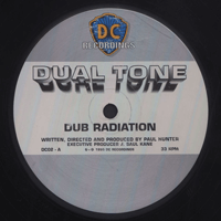 Dual Tone label on Depth Charge