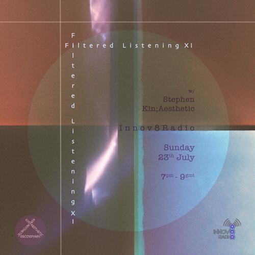 Filtered Listening 11 on Innov8 Radio