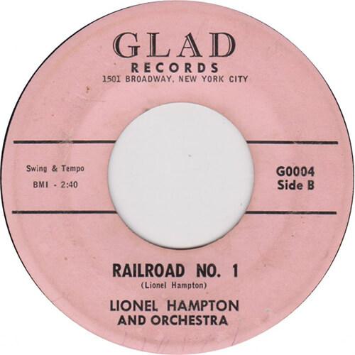 Lionel Hampton – Railroad No.1 [1960, Glad]