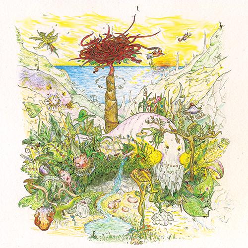 Cover artwork by King Lagoon's own Rodrigo Kerr.