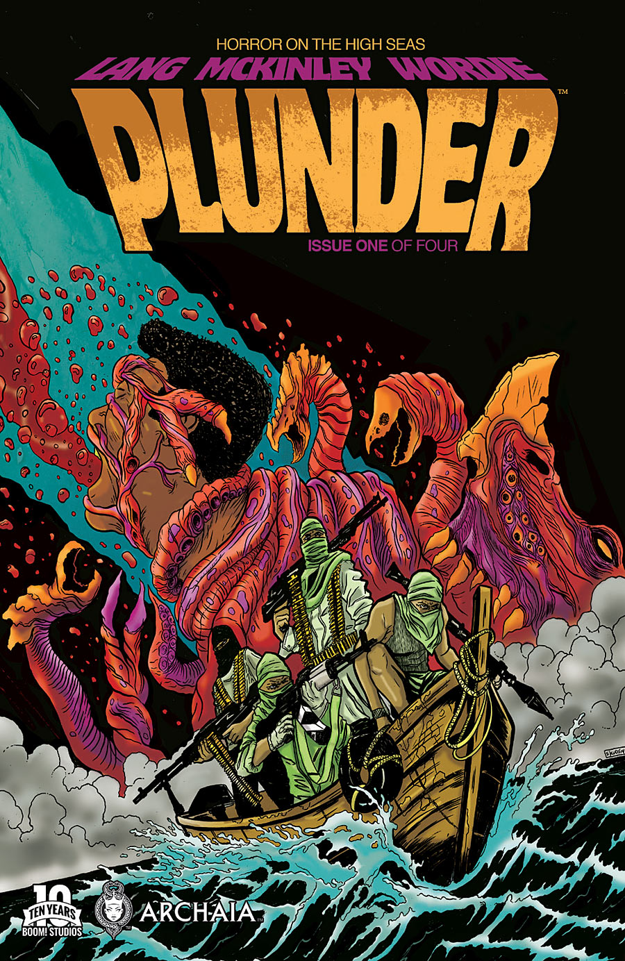 Plunder is a four-issue series from Archaia and BOOM! Studios.