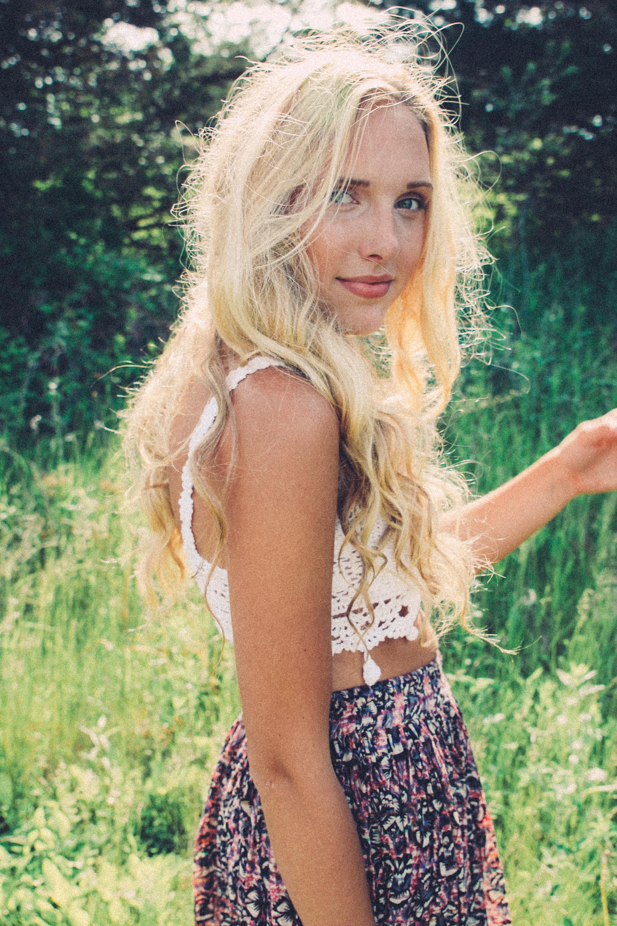 On Leah: Raga LA  Olivia Crop Top &  Juniper Maxi Skirt