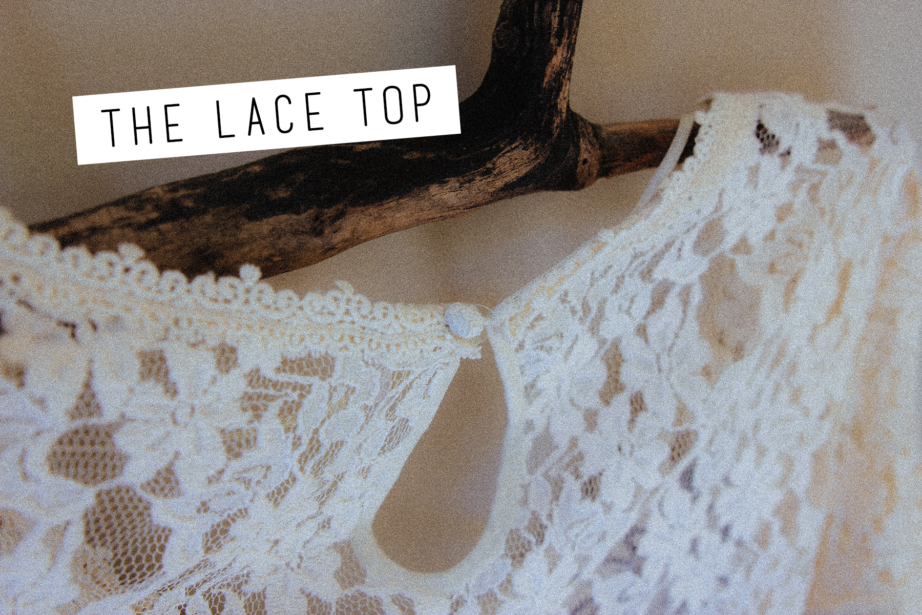 Free People  With Flair Lace Top