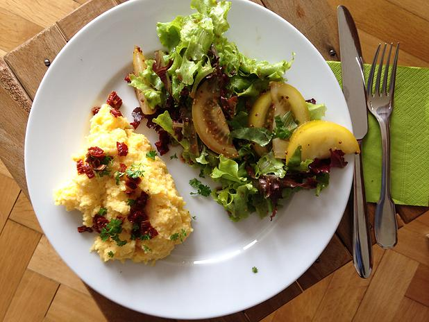 Salade sans gluten sans lactose