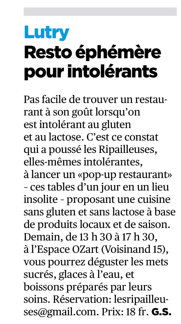 Café gourmand-Les Ripailleuses brève