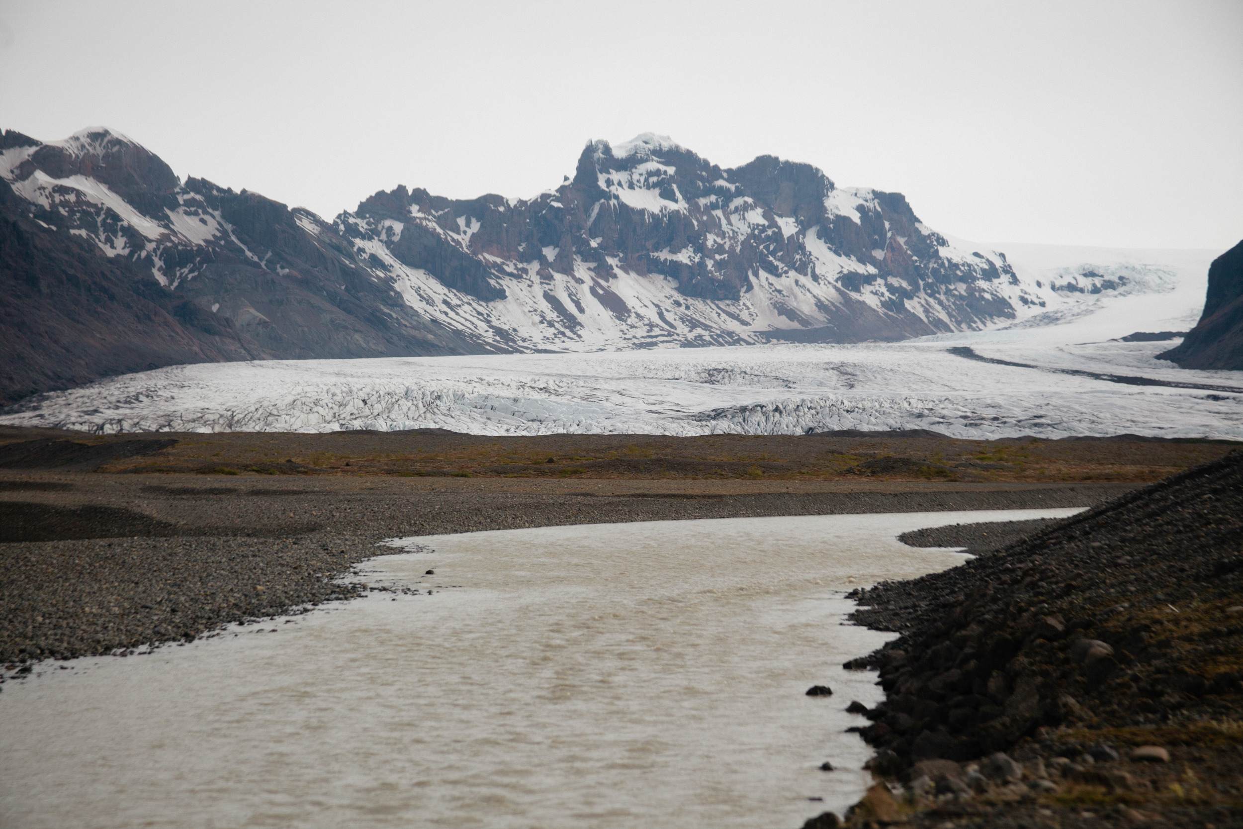 Glacier field.