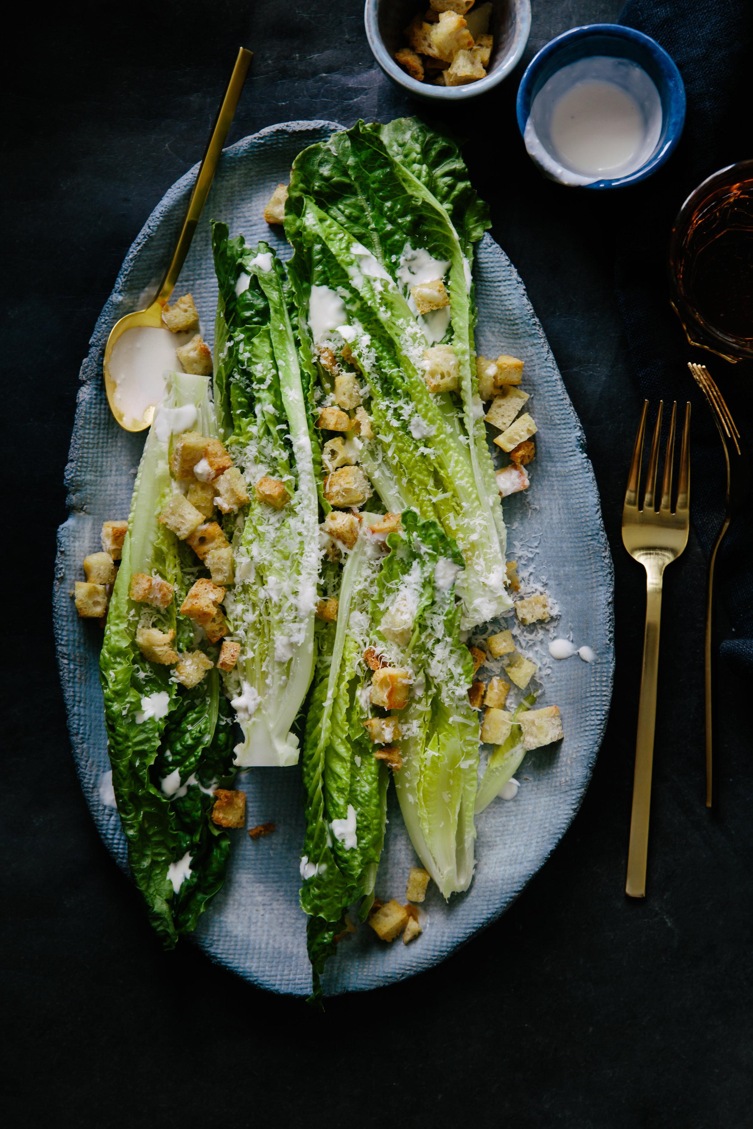 Film- Darjeeling Express, Food- Caesar Salad