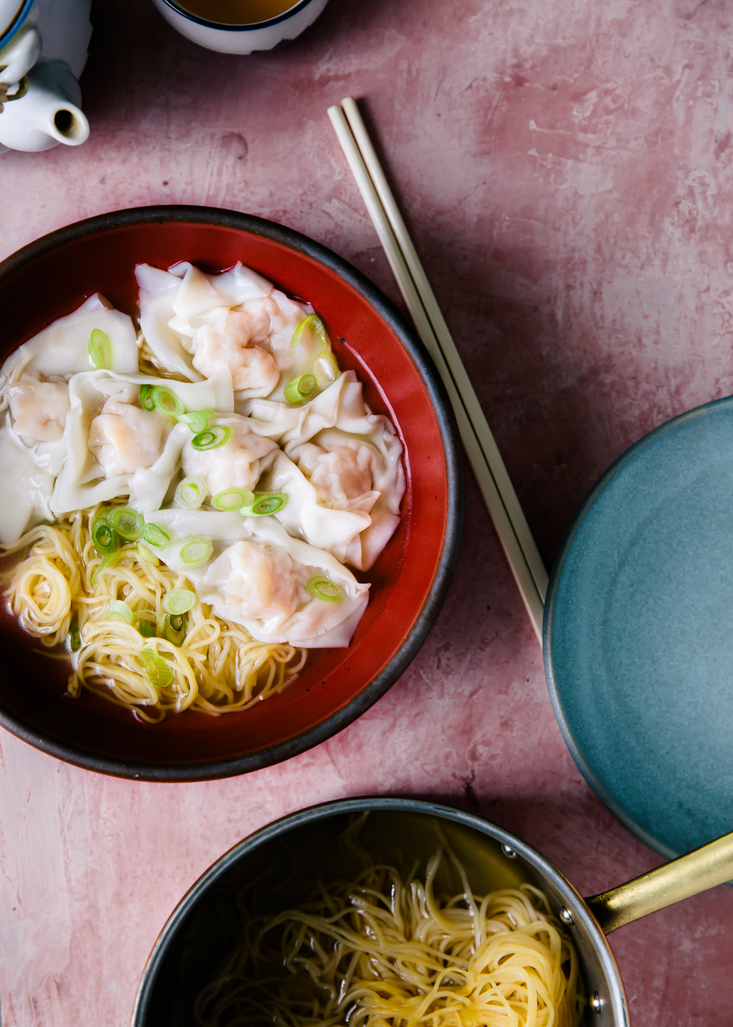 Film- In the Mood for Love, Food- Wonton Noodle Soup