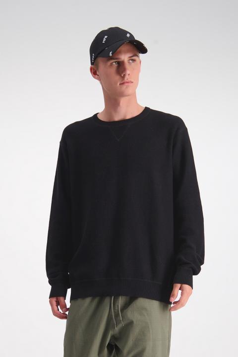 Crux Knit Crew (Black) - $159.90