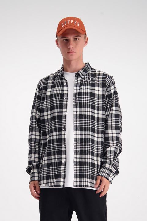 Long Sleeve Huntington Shirt (Black/White) - $109.90