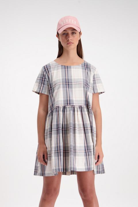 Checkered Park Dress (Pink) - $159.90