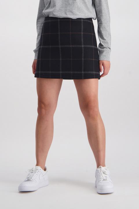 Finers Wool Skirt (Black) - $139.90