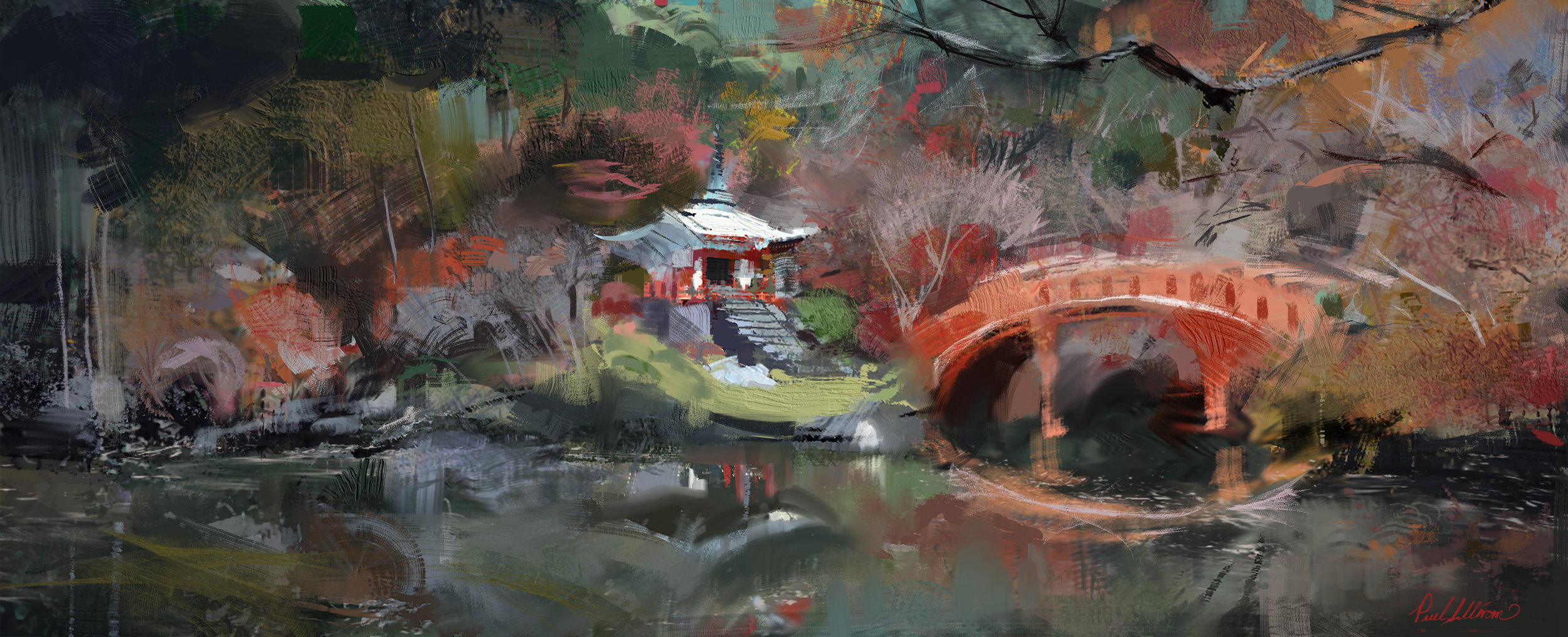 Study of Japan playin with edges