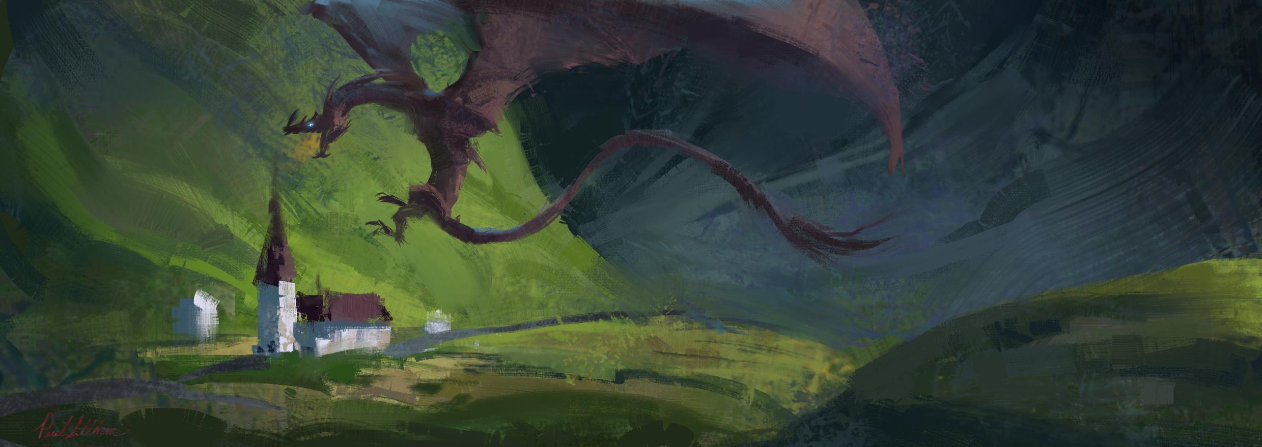 Dragon perchin