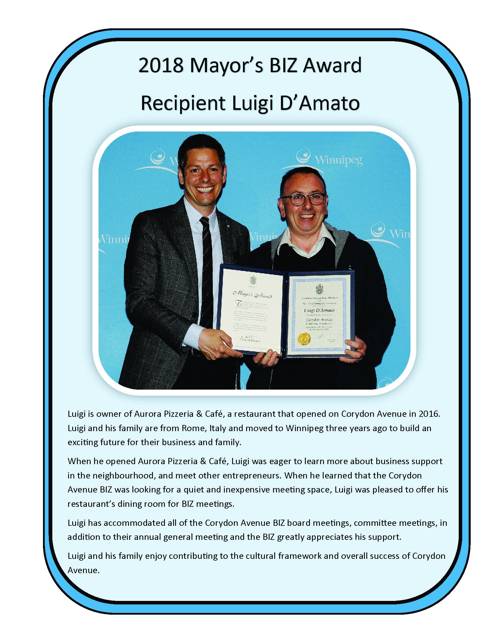 Luigi damato mayor awards 2018.jpg