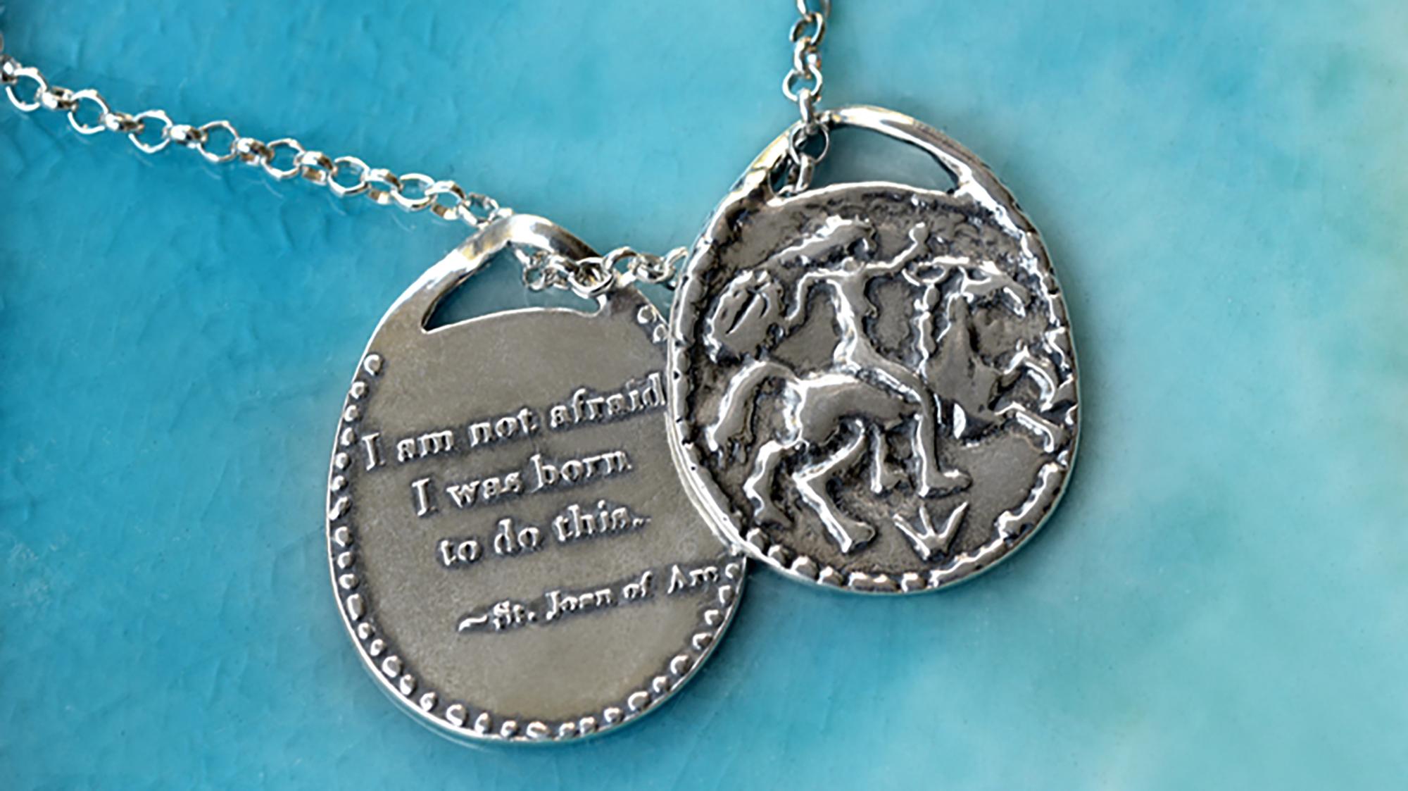 Woman Warrior Medallion