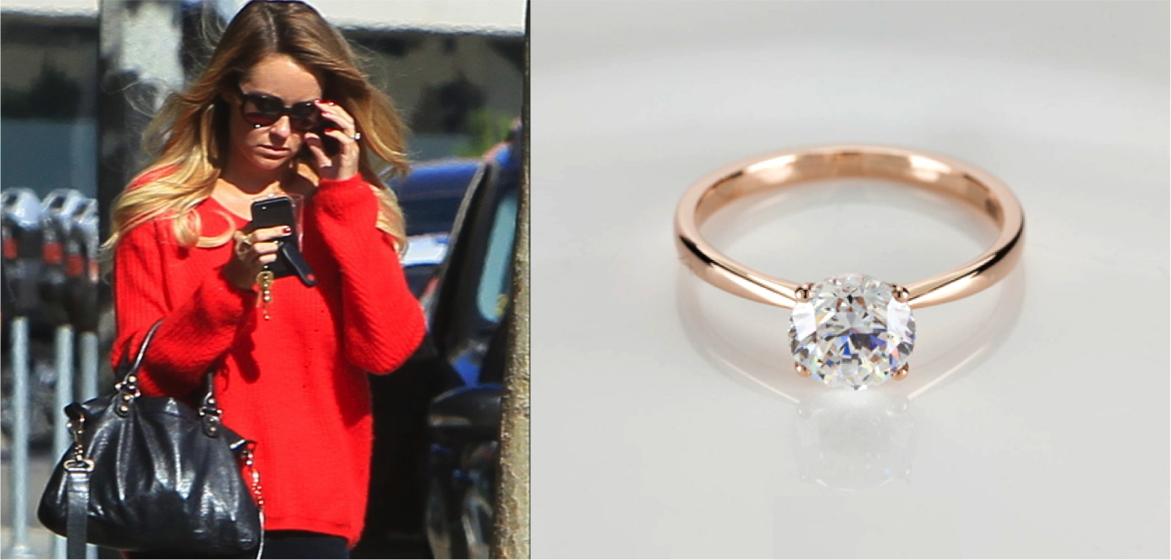 Top 6 Celebrity Engagement rings of 2014 — Diamond Collection
