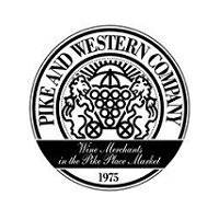 Click the logo to visit the Pike and Western Wine Shop website, wine merchant in the Pike Place Market