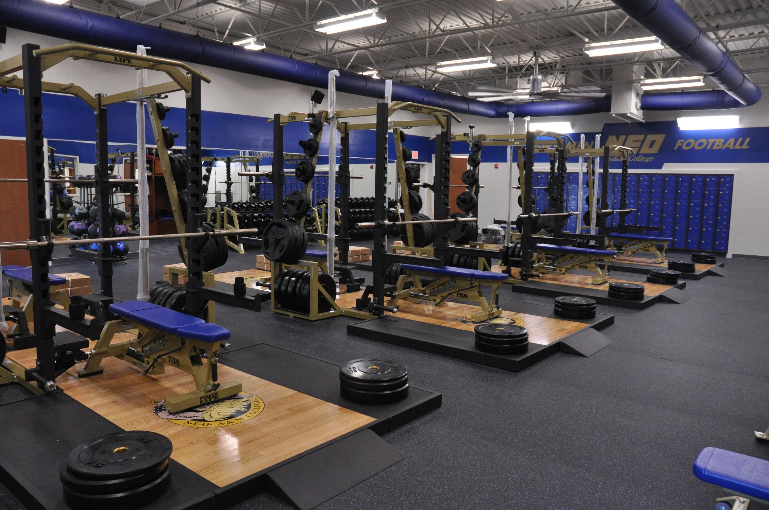 NEO Athletic Training Facility