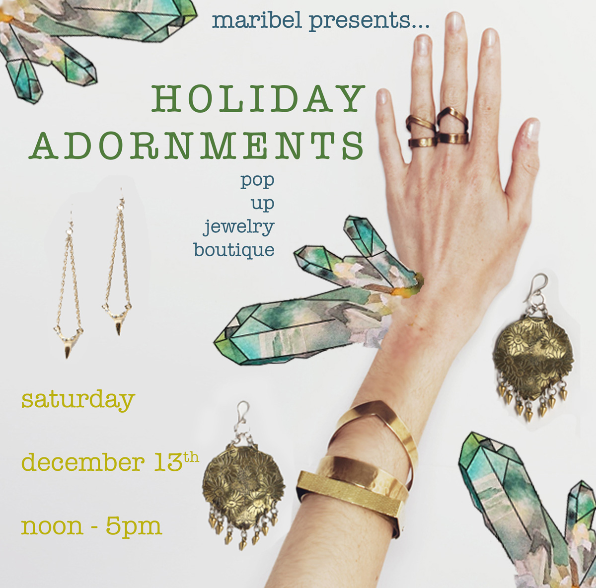 holiday adornments flier