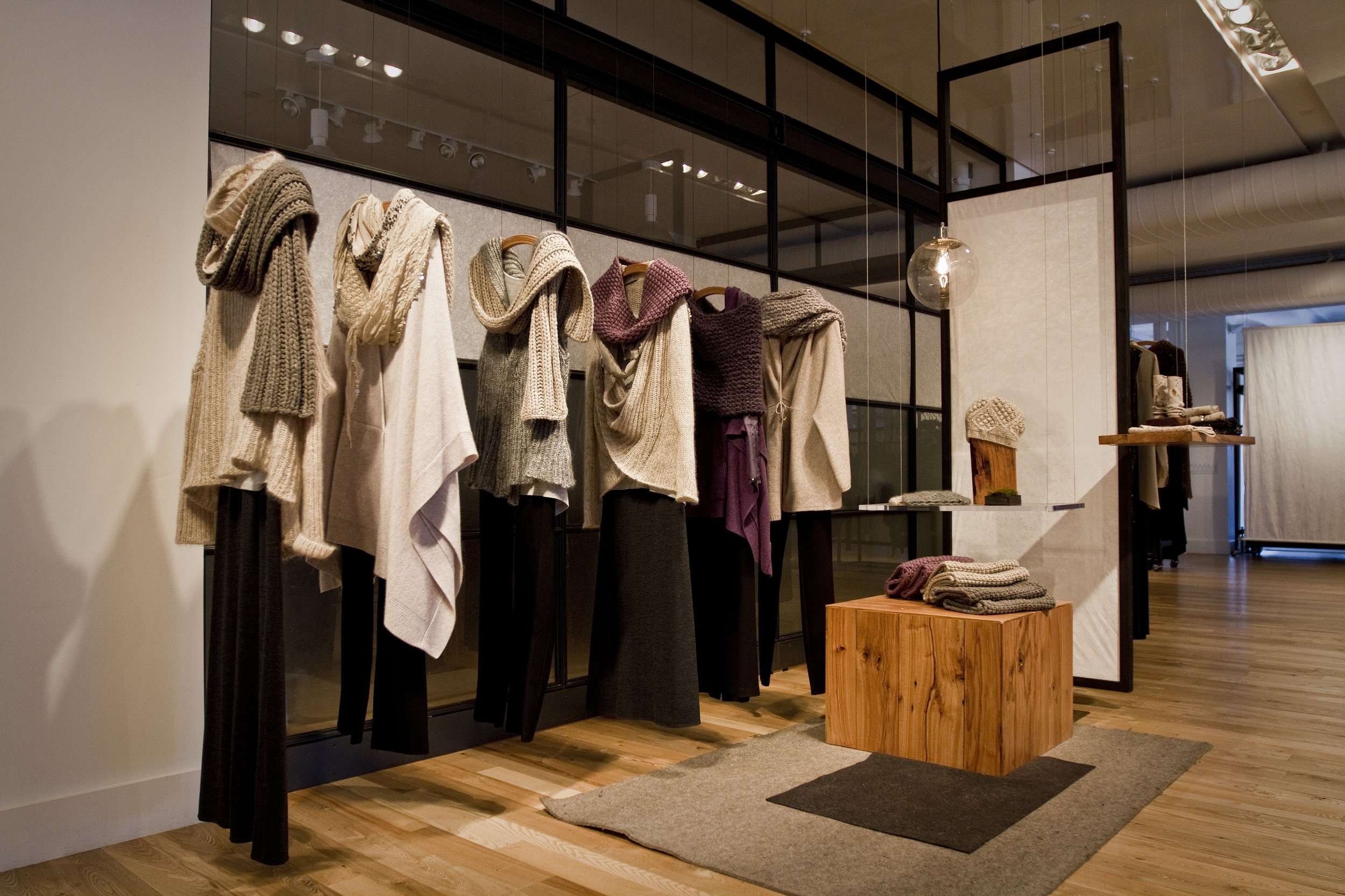 showroom design, Eileen Fisher Wholesale, New York