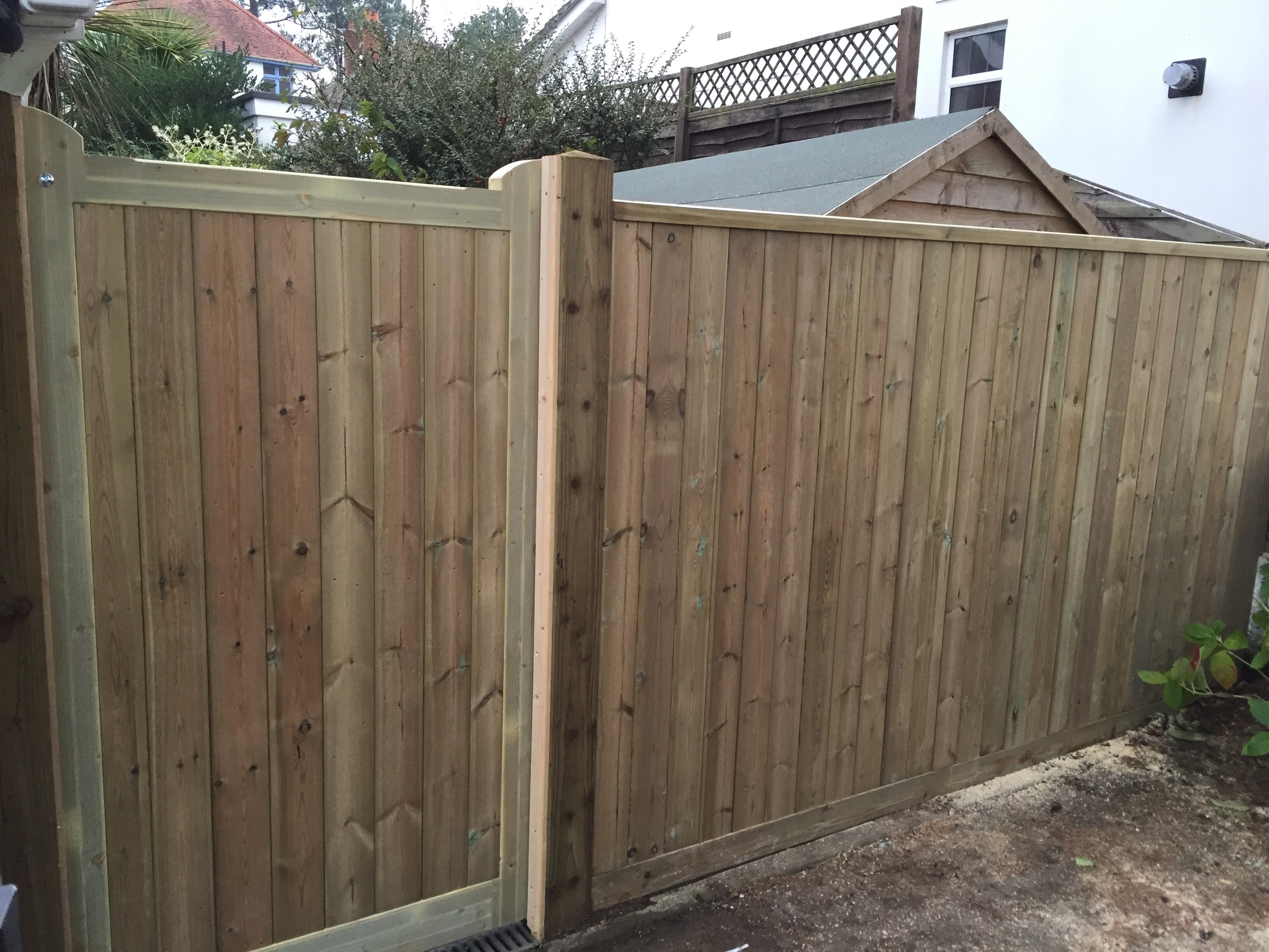 Gates can be supplied treated or untreated ready for paintings/staining.
