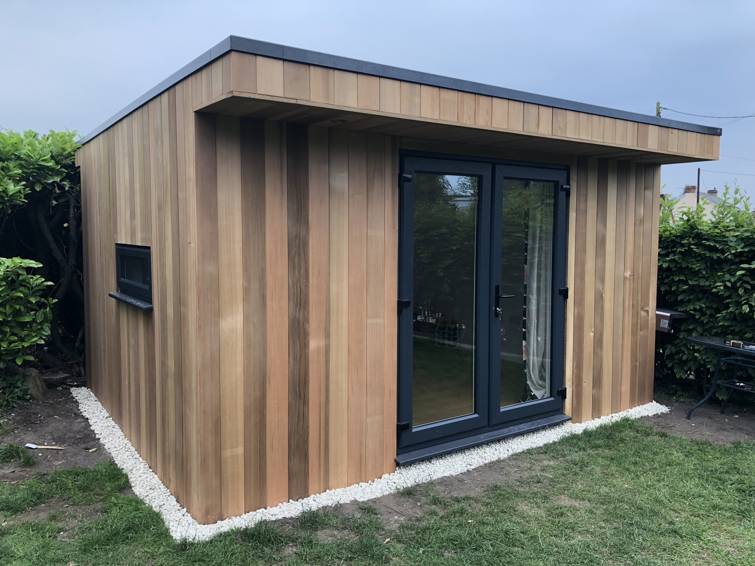 Western Red Cedar Office