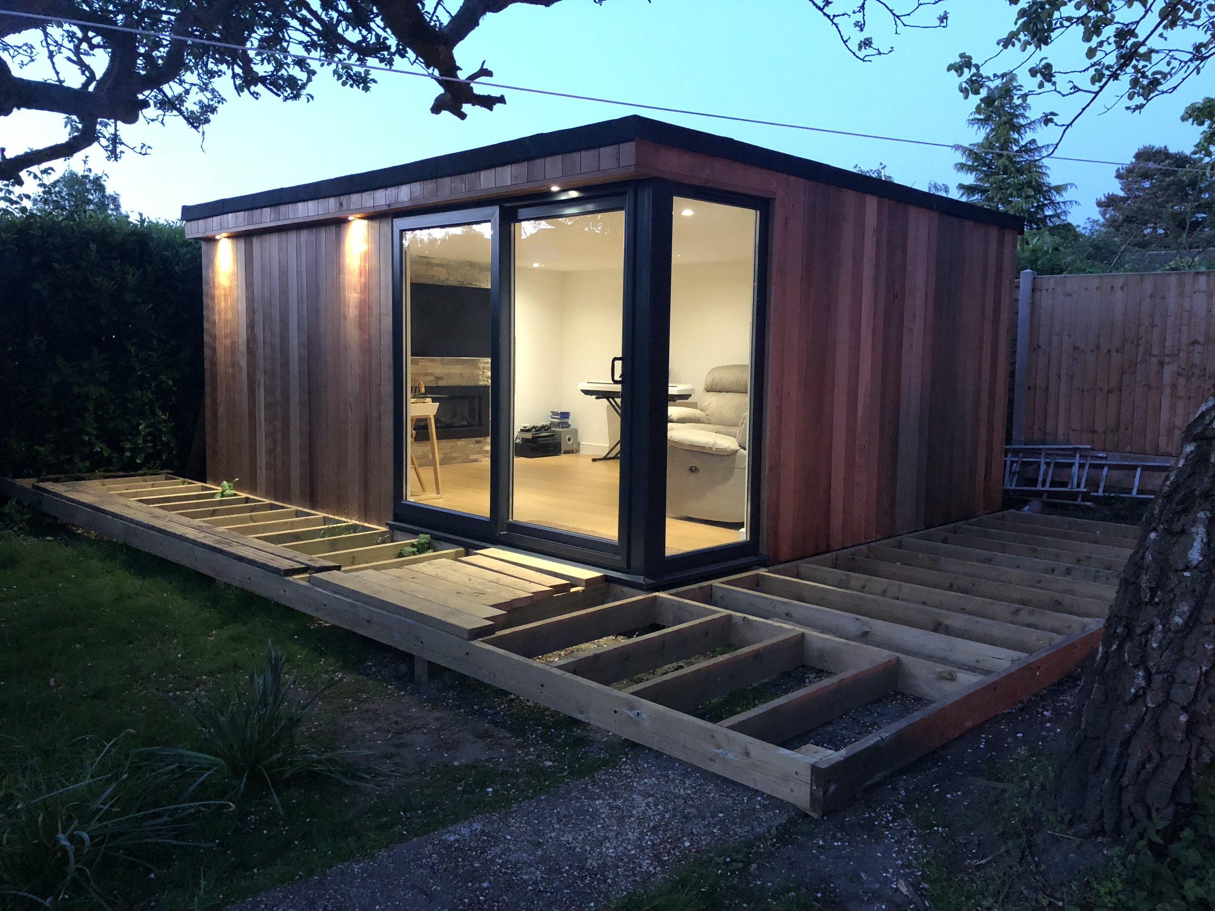 Garden Studio in Cedar