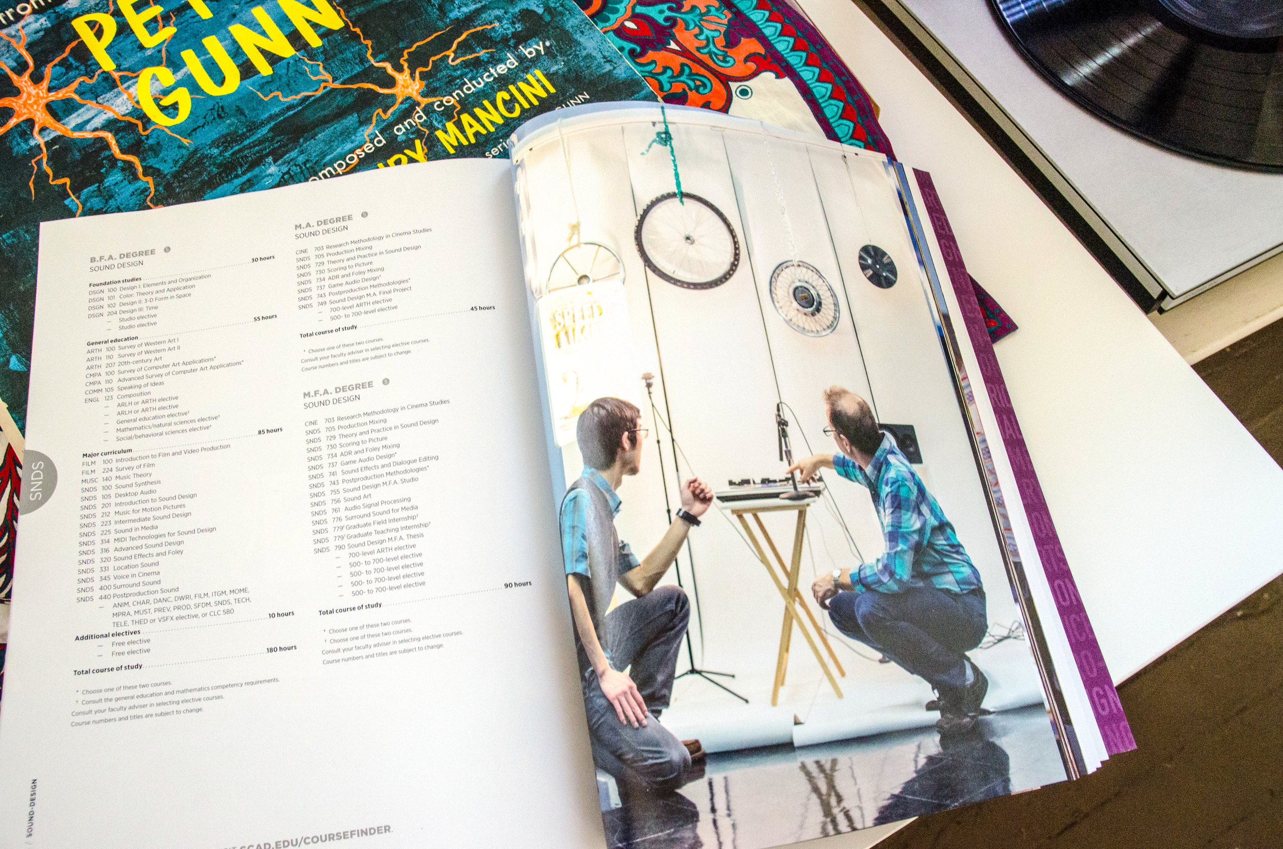 Xiao's sound art project was selected by Savannah College of Art and Design Catalog.