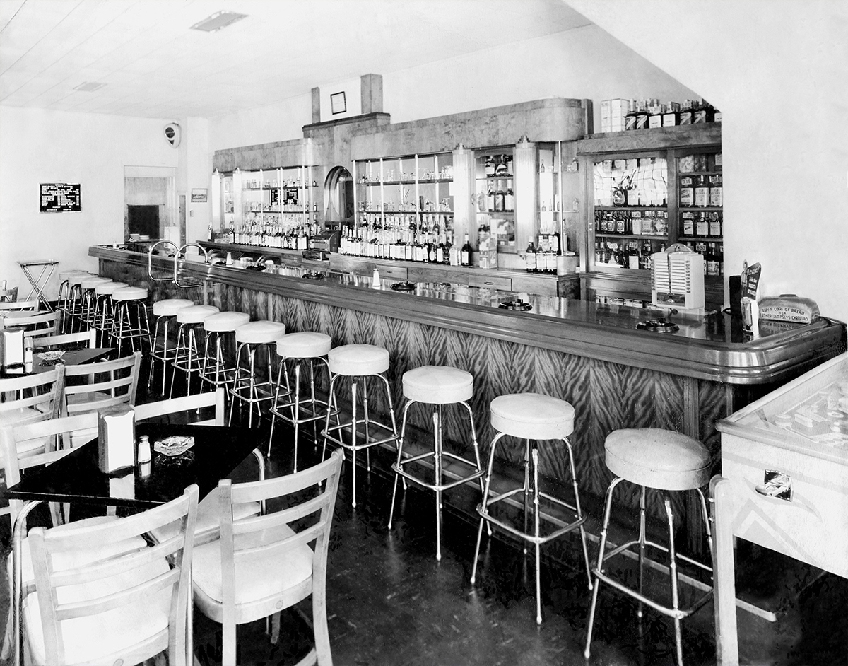 Original Bar, 1942 - Not much has changed in over 75 years. Come see for yourself! We are proud to have preserved this historic bar, which is among the oldest in St. Louis!
