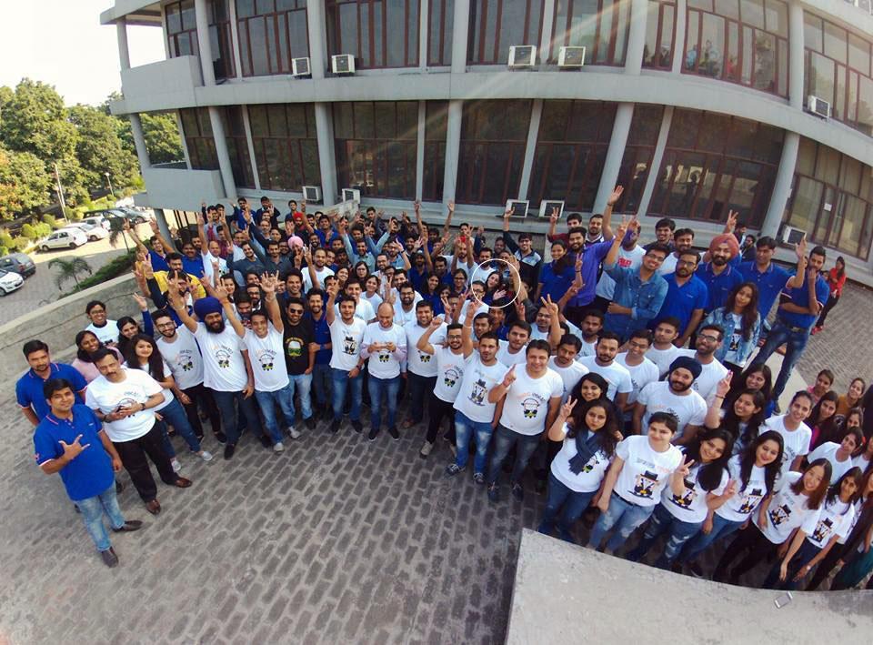 JungleWorks' team at Chandigarh headquarter