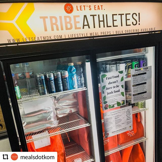 Don't forget to your orders in by Thursday night for next Monday!  @mealsdotkom - - - - - - Let's Eat, #Tribathletes! ________ For FREE Monday Pick Up @ TRIBE Functional Fitness in Los Alamitos, select 'Delivery' & enter their address: 10712 Reagan St, Los Alamitos, CA 90720 . Monday Pick Up Times: 8am-10:30am & 4pm-8pm . Grab n go meals available for purchase while supplies last ________ Shout out to @visxdesign for the wrap for our Fridge! 🙌🏼 ________ LetsEatMDK.com LetsEatMDK.com LetsEatMDK.com ________ #LetsEat #MealsDotKom #Healthy #Lifestyle #MealPrep #LetsEat #MealsDotKom #tribestrong #tribefunctionalfitness #crossfittribe #tribemeansfamily #losalamitos #sealbeach #lakewood #longbeach #strongbeach