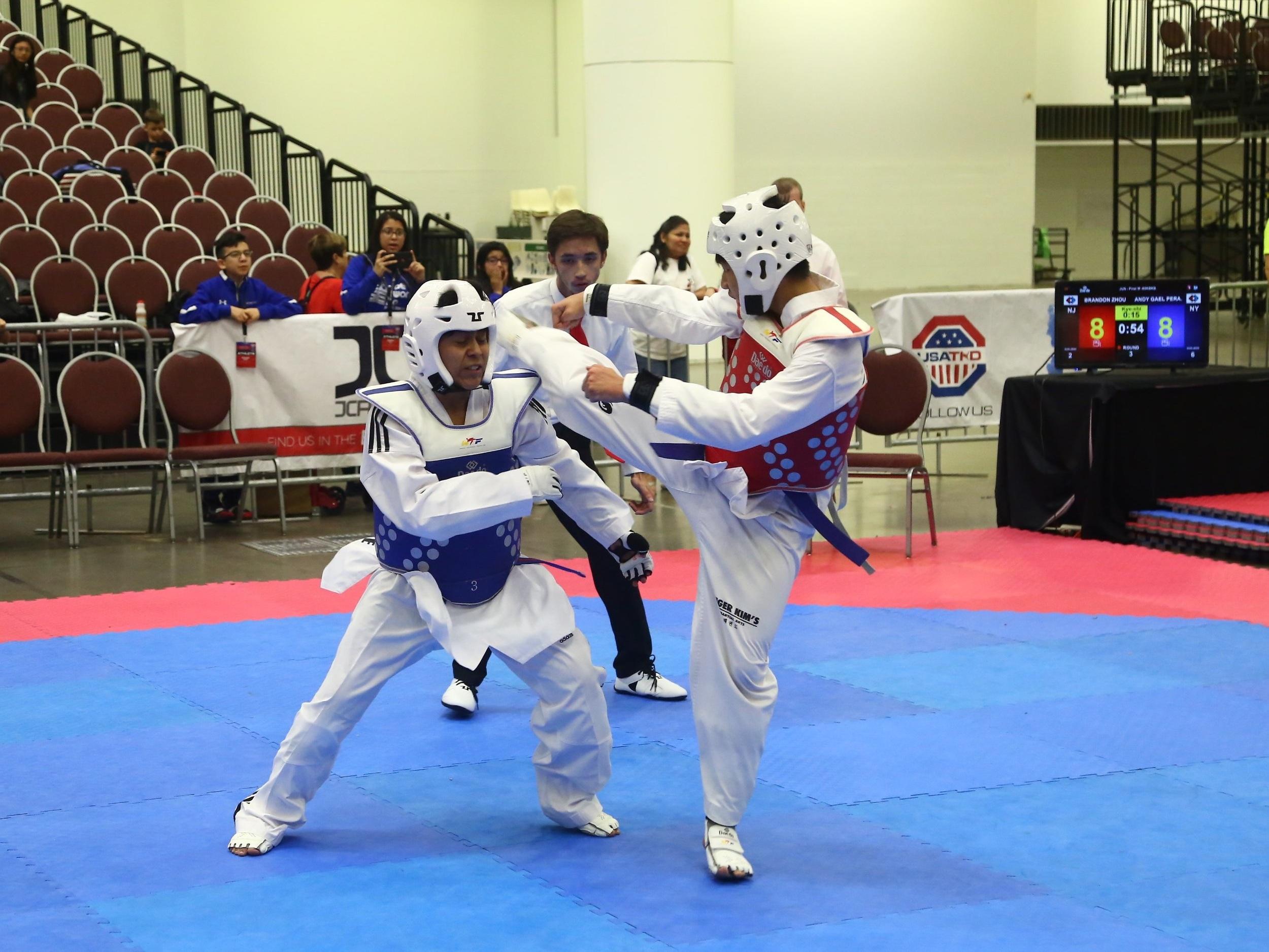 US national taekwondo championship - june 2019