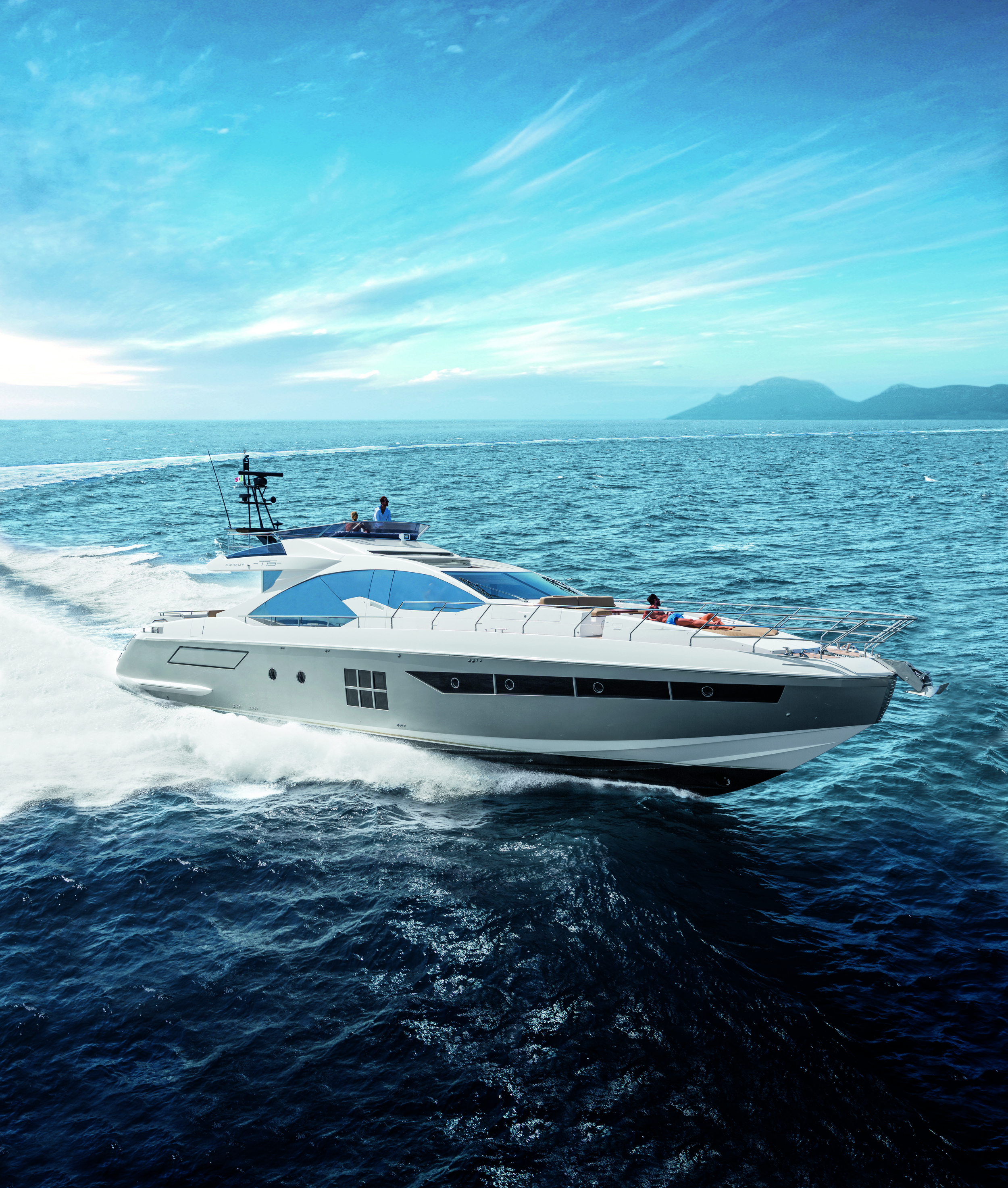 S Collection  Blends sports look and elegance thanks to innovative high-tech solutions and high performance materials for desirable, technological yachts.