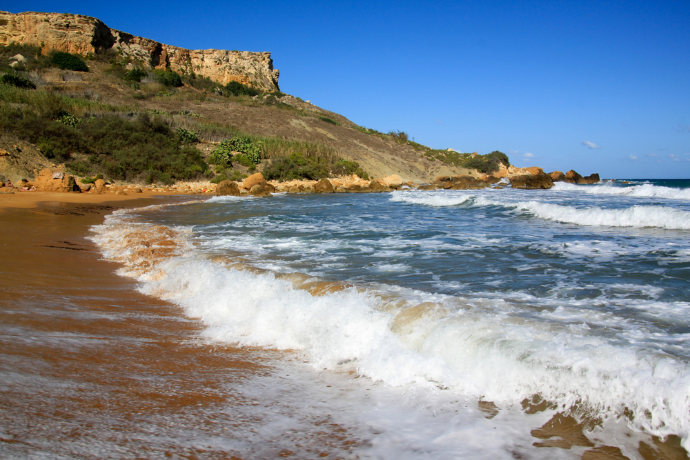 3. San Blas Bay, Gozo