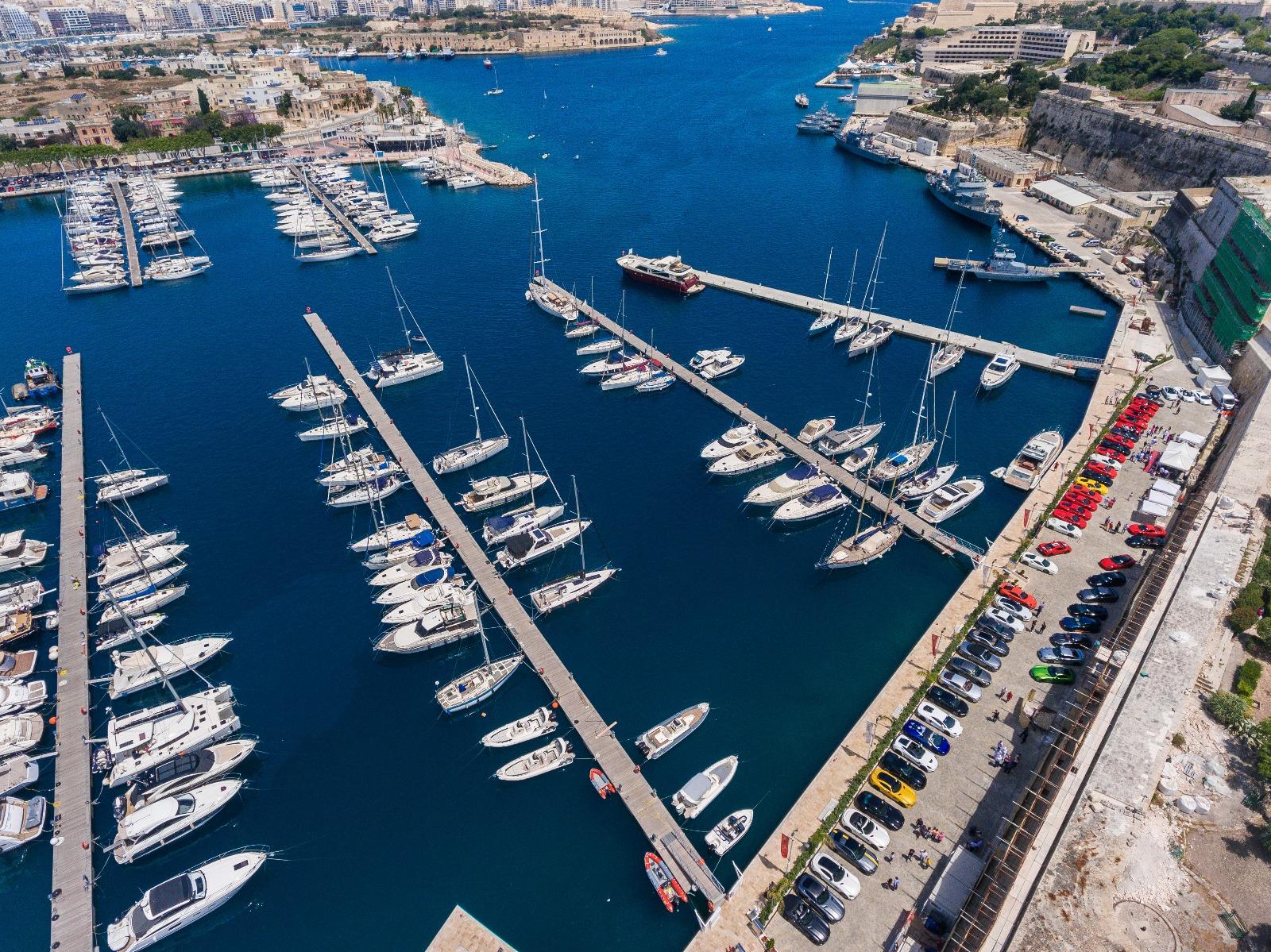 Cars Unlimited & Coffee at the Marina di Valletta