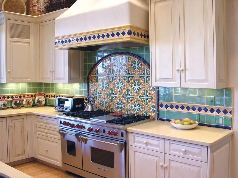 Kitchens Statements In Tile Lighting