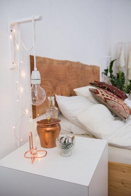 Bare Dangling Bedside Light Trend Statements Santa Fe