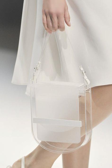 Clear Transparent Handbag Trend Statements Santa Fe
