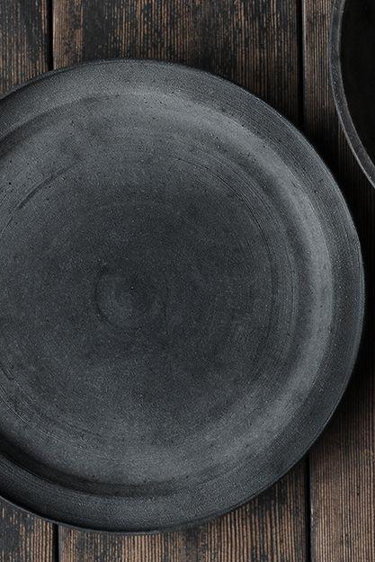 Black Plate from Analog Life, Japanese Design Shop