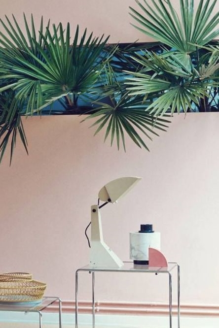 1980s Office Palm Fronds