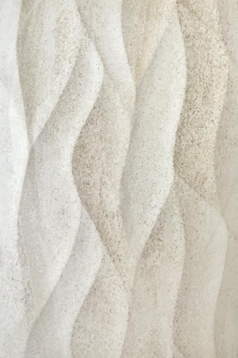 White Sand Dune Textured Tile