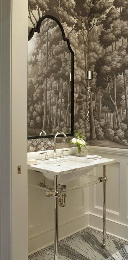 Ritz-Carlton Showcase Apartment by Frank Ponterio via Traditional Home.