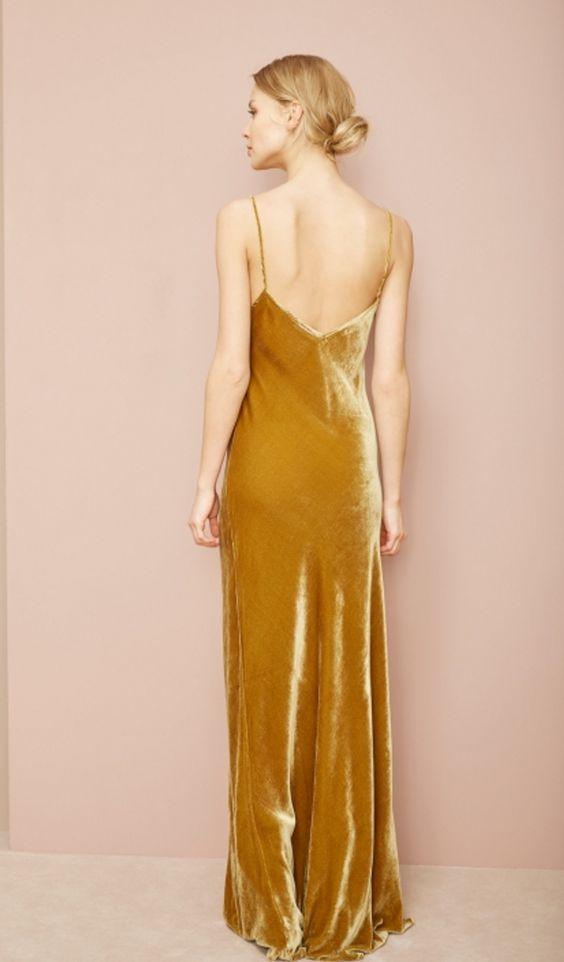 Velvet Dress by Mes Demoiselles