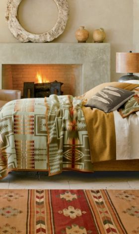 Harding Blanket Collection by Pendleton Woollen Mills.