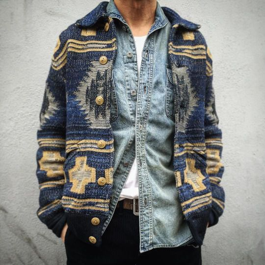 Pendleton style men's jacket.