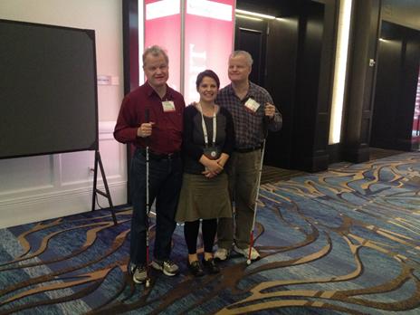 me at CSUN with twins John and Larry Gassman